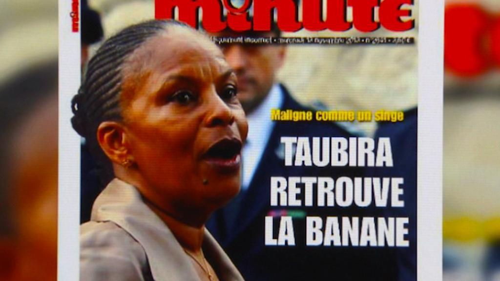 Titulní strana ultrapravicového časopisu