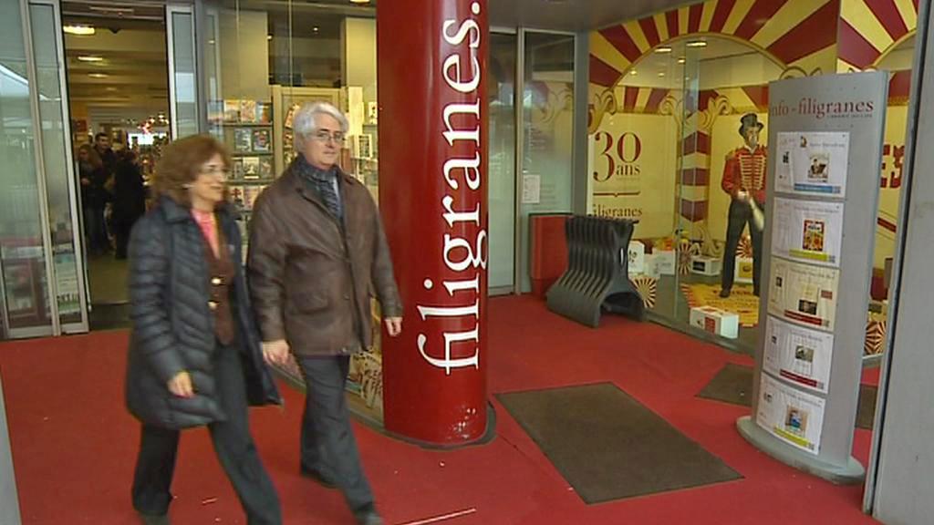 Belgické knihkupectví Filigranes
