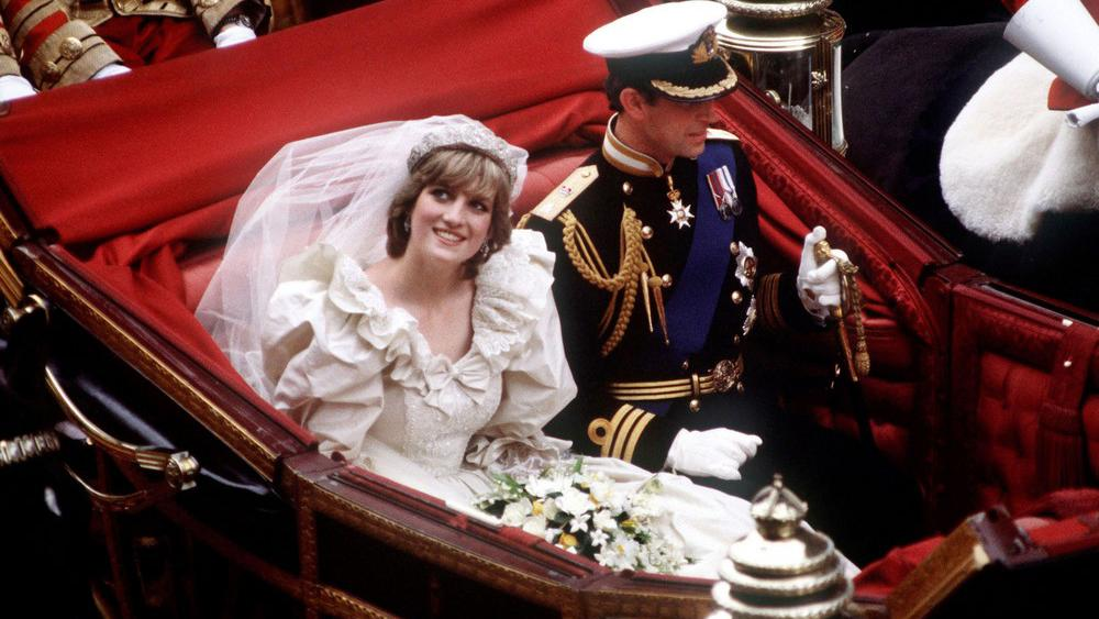 Svatba prince Charlese a Diany Spencerové
