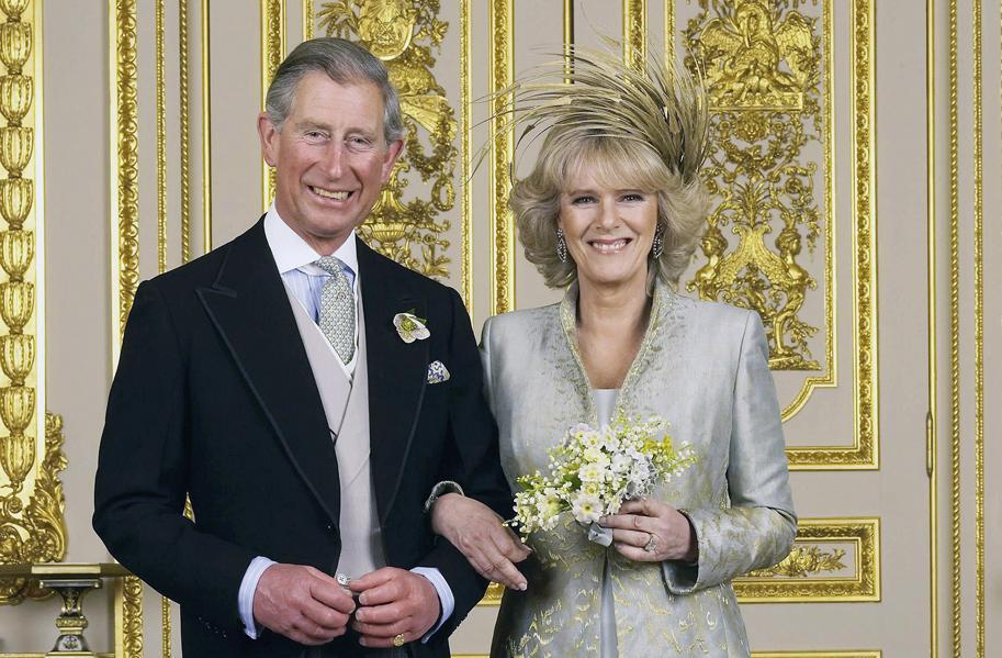 Svatba prince Charlese a Camilly Parker Bowlesové