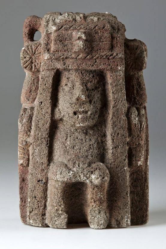 Aztécká bohyně úrody, hojnosti a veselí Chicomecoatl