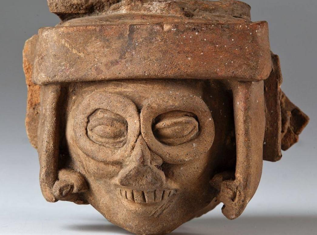 Aztécký bůh deště Tlaloc