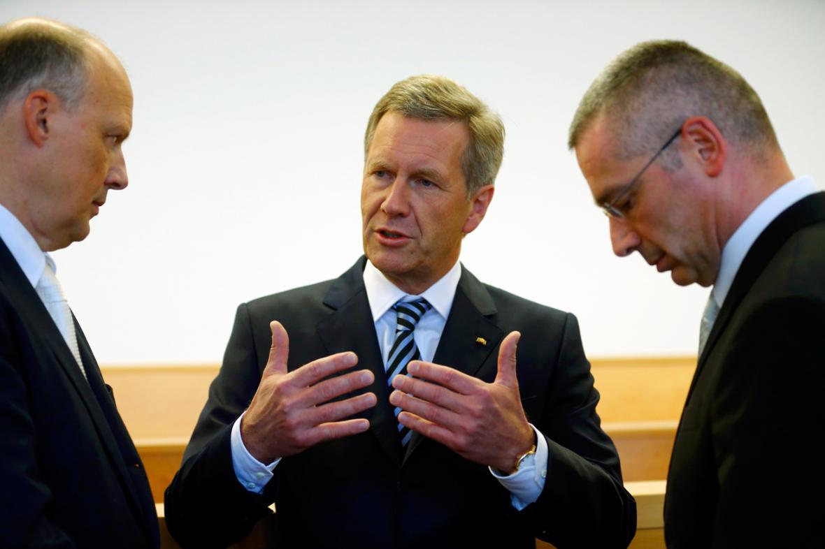 Christian Wulff se svými právníky