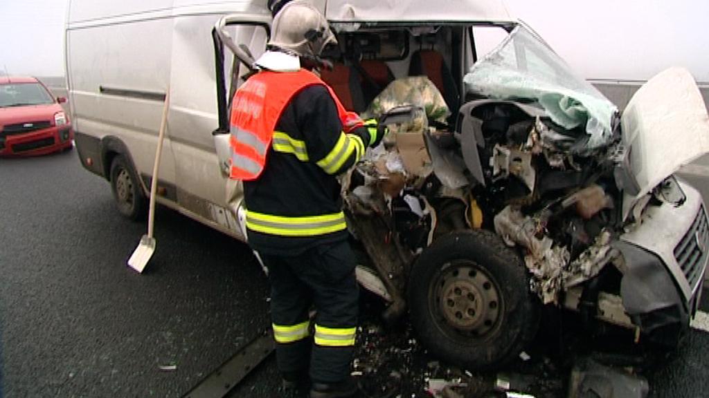 Hromadná nehoda v Chebu