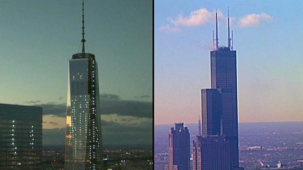 One World Trade Center versus Willis Tower