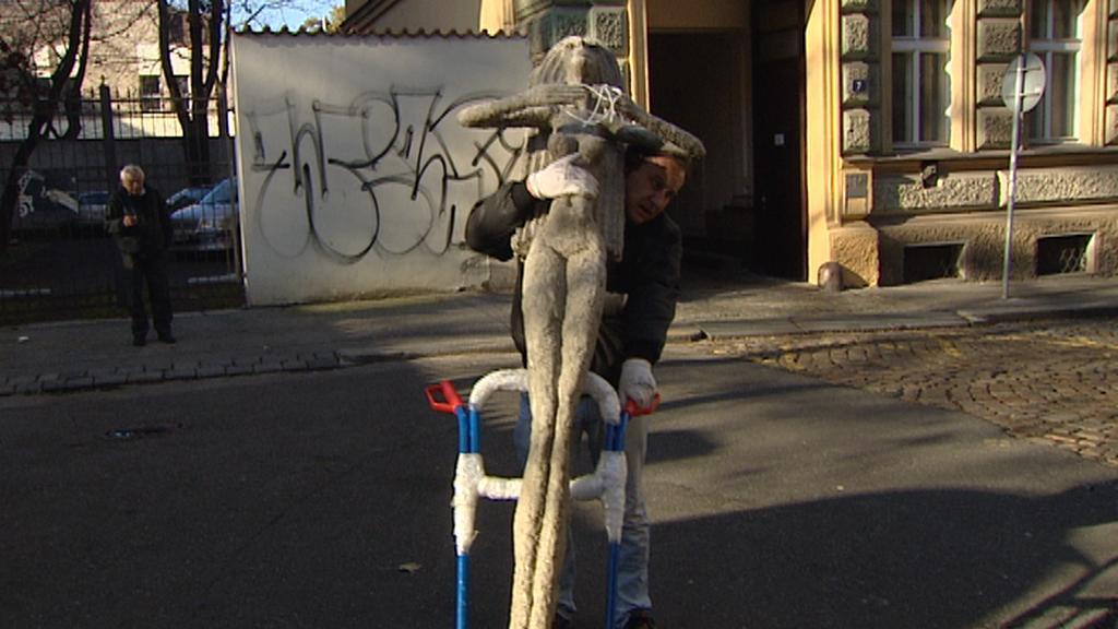 Stěhování soch Olbrama Zoubka