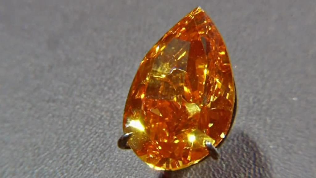 Christie's prodala největší oranžový diamant