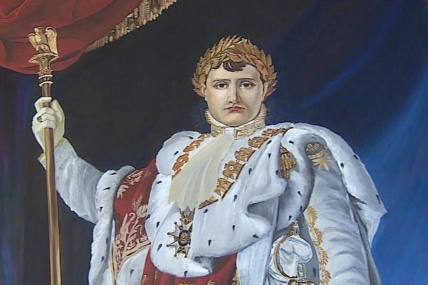 Originál obrazu je vystaven v zámku Fontainebleau u Paříže