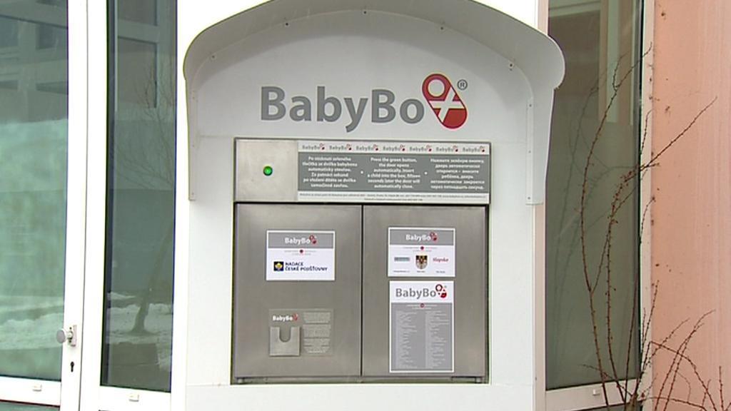 Nově otevřený babybox v Táboře