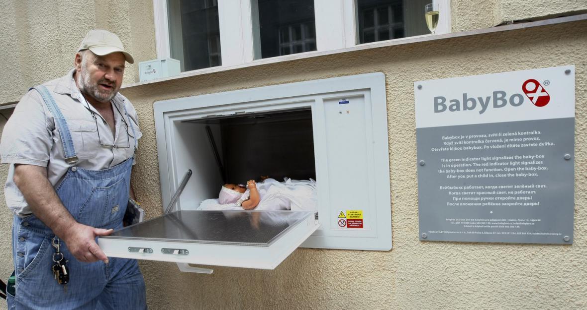 Zakladatel babyboxů Ludvík Hess