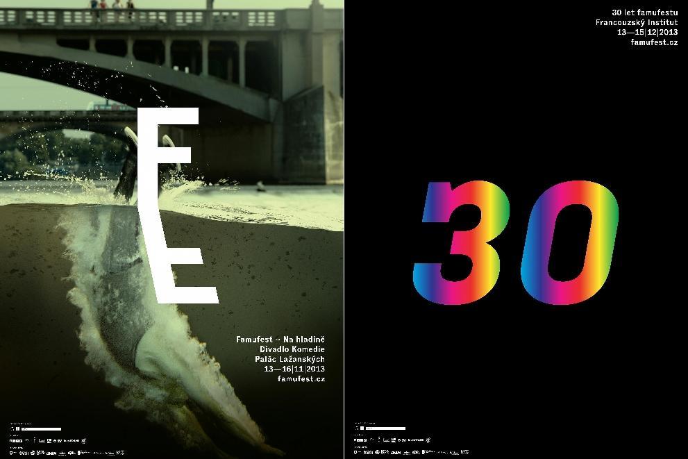 Plakáty k 30. FAMUfestu