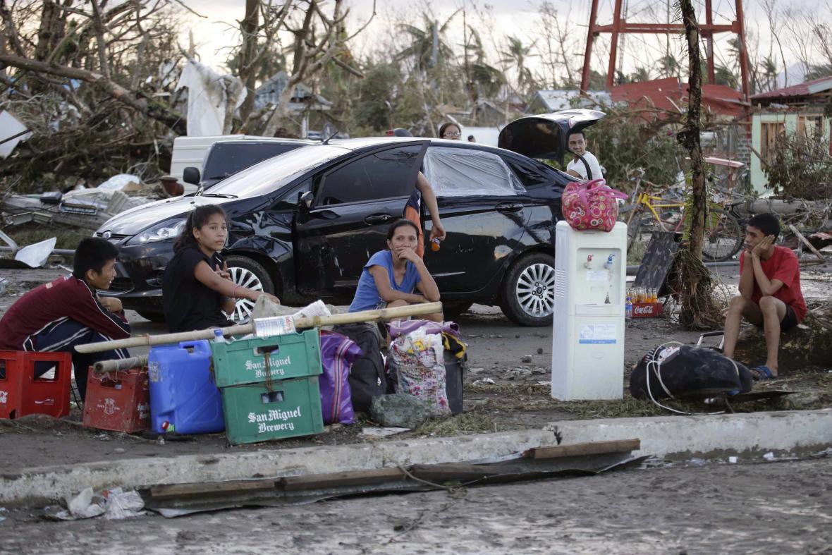 Následky tajfunu Haiyan