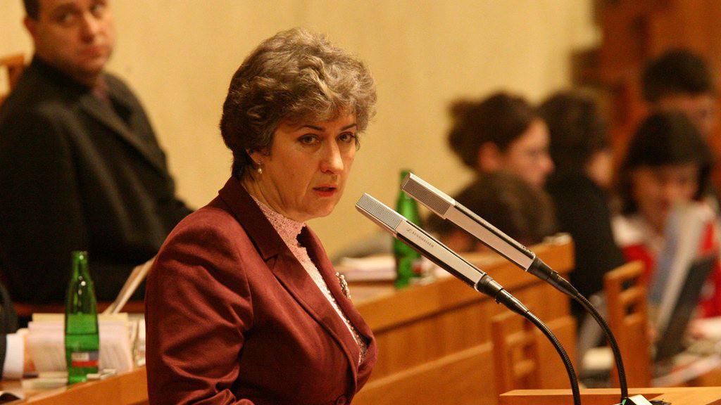 Místopředsedkyně Senátu ČR Alena Gajdůšková