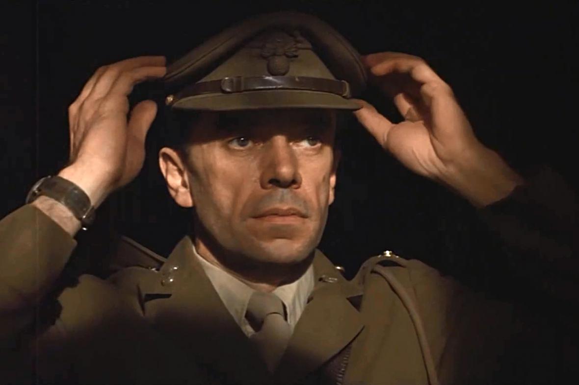 Scéna z filmu The Wall