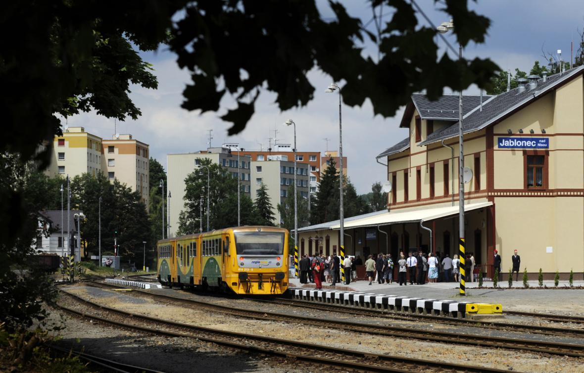 Jablonecké nádraží