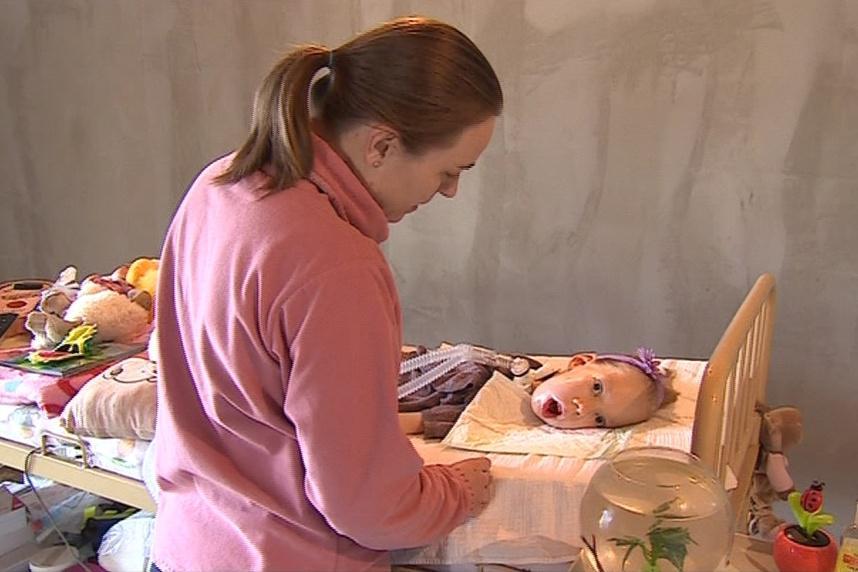Péče o postižené dítě