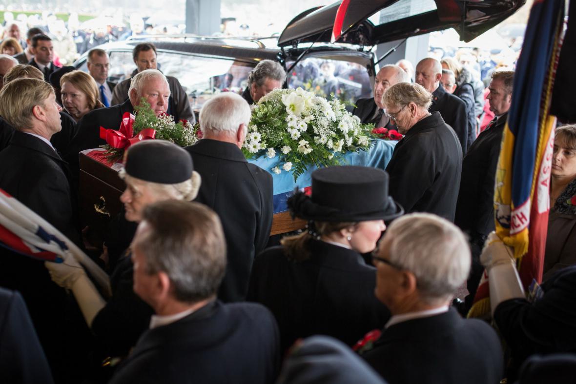 Pohřeb Harolda Percivala
