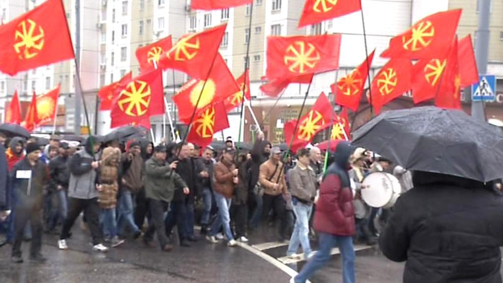 Moskevský pochod proti přistěhovalcům