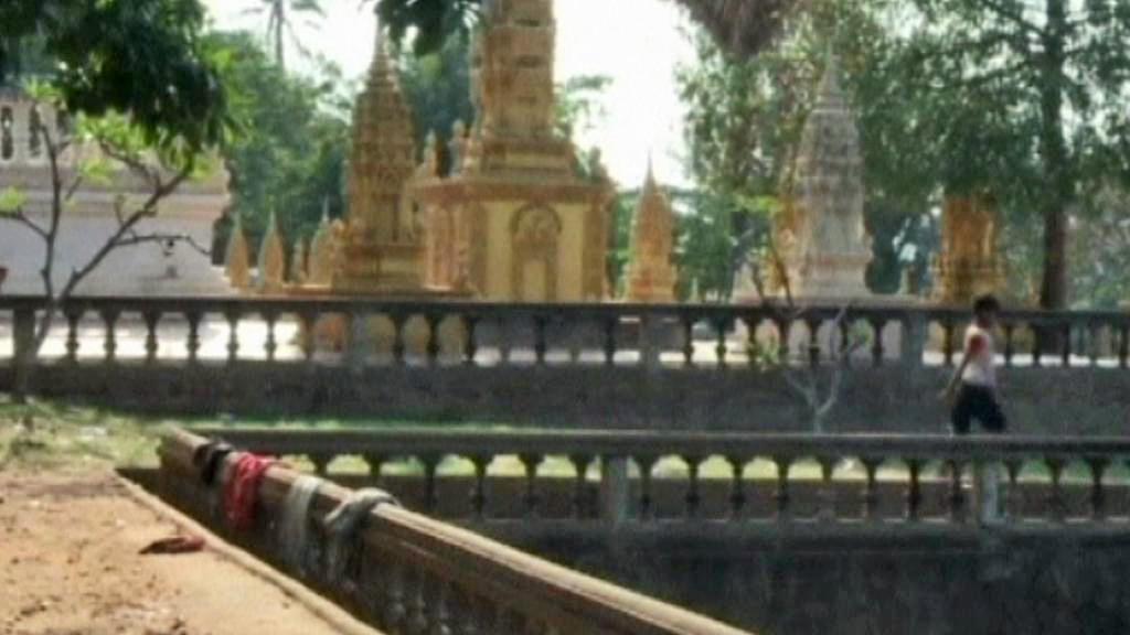 Sporný chrám na kambodžsko-thajské hranici