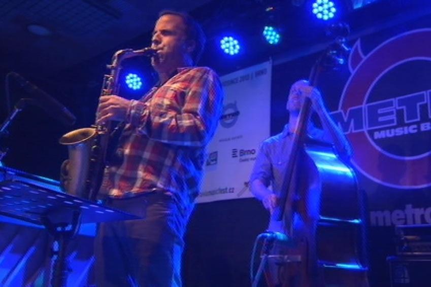 Jazzový koncert v klubu Metro