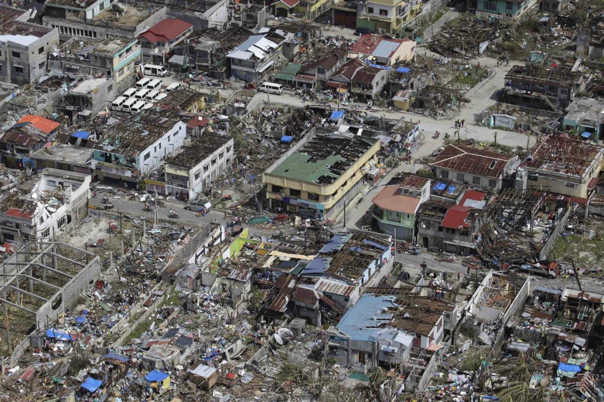 Tajfun Haiyan zdevastoval Filipíny