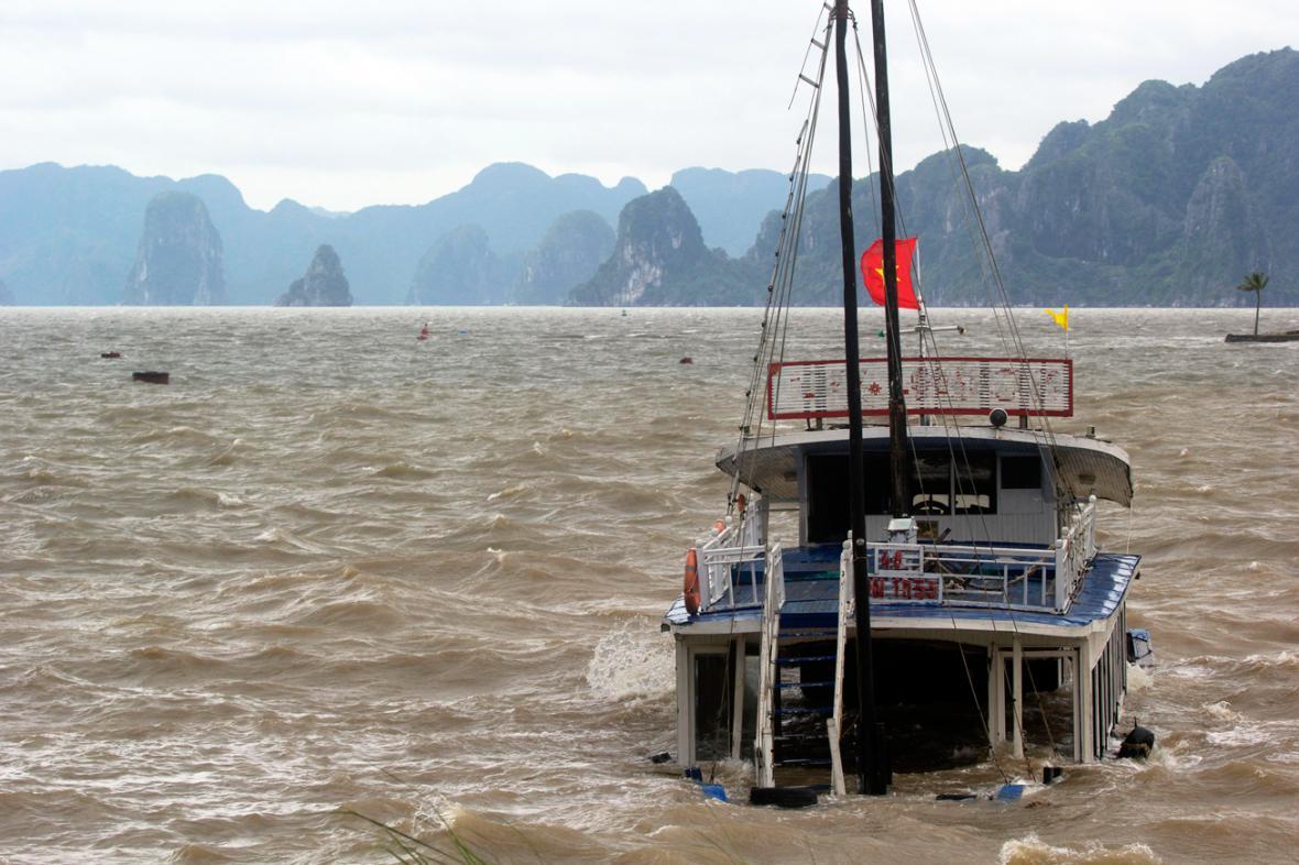 Haiyan dorazil do Vietnamu