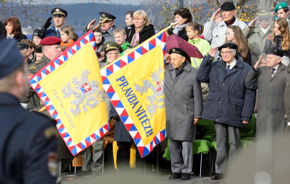 Pietní slavnost ke Dni válečných veteránů