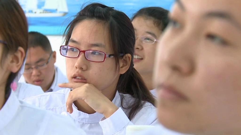 Čínské zdravotní sestřičky
