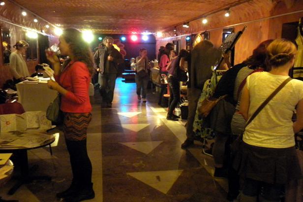Trhy na Pozdním sběru v Rock Café
