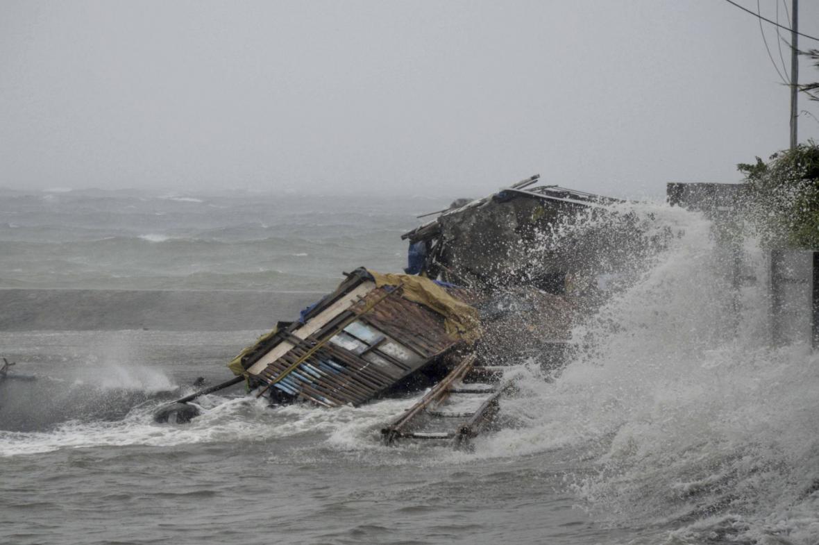 Dopady tajfunu Haiyan