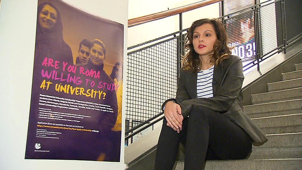 Karolína Horváthová studuje pedagogickou fakultu v Ústí nad Labem