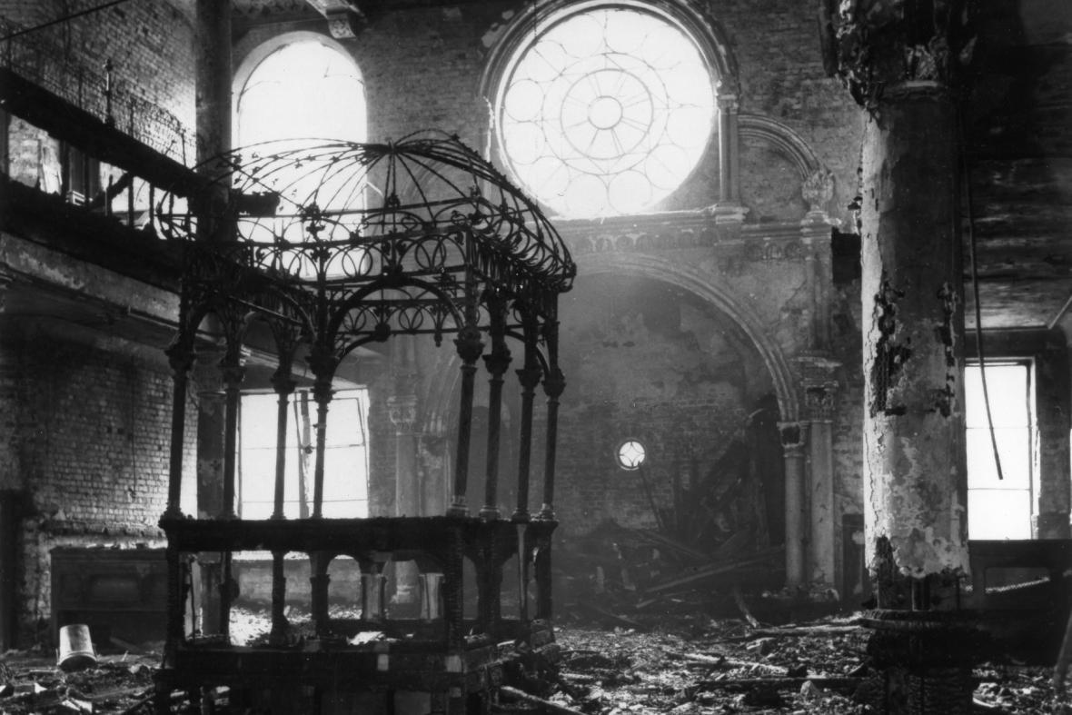 Vypalování synagog (listopad 1938)