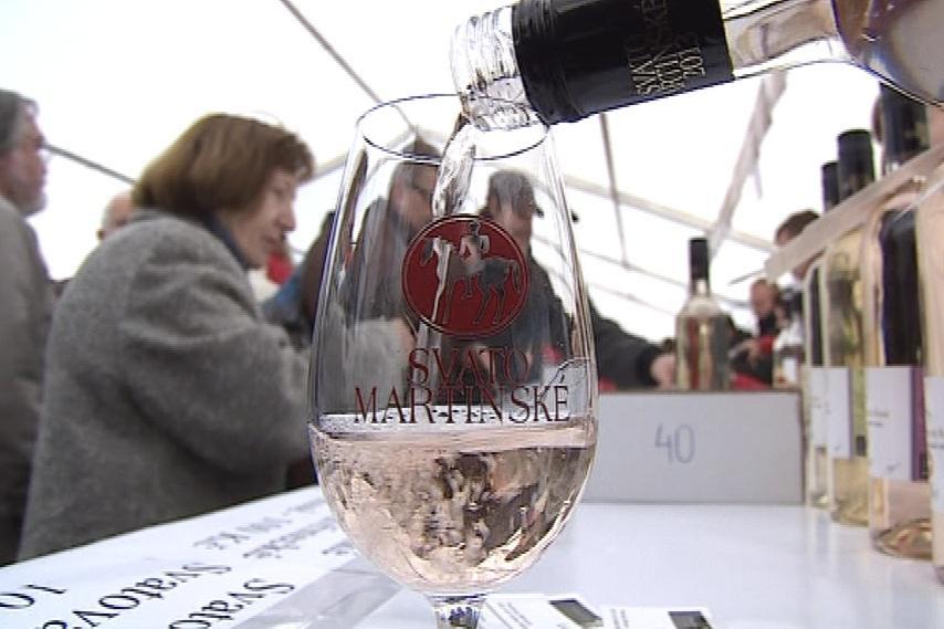 Víno ve skleničce