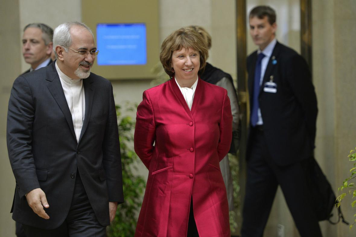 Ženevské rozhovory o íránském jaderném prgramu