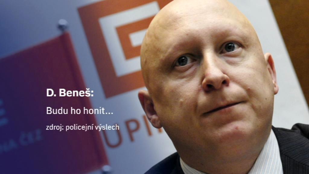 Z konverzace Jany Nagyové s ředitelem ČEZu Danielem Benešem