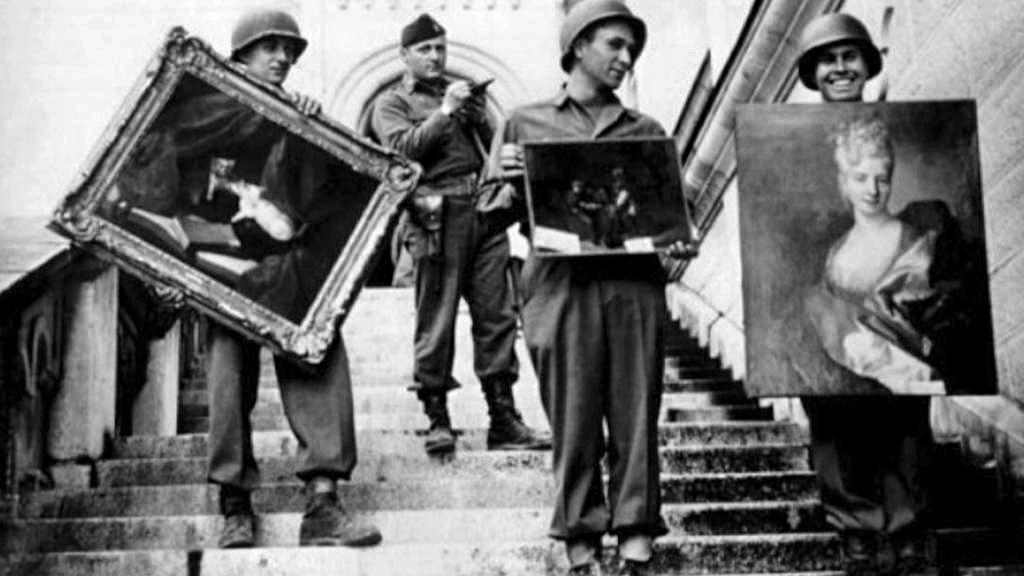 Umělecká díla z vlaku Hermanna Göringa