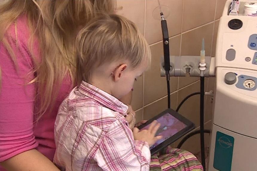 Dítě s implantátem