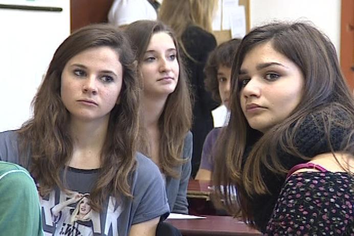 Španělské studentky
