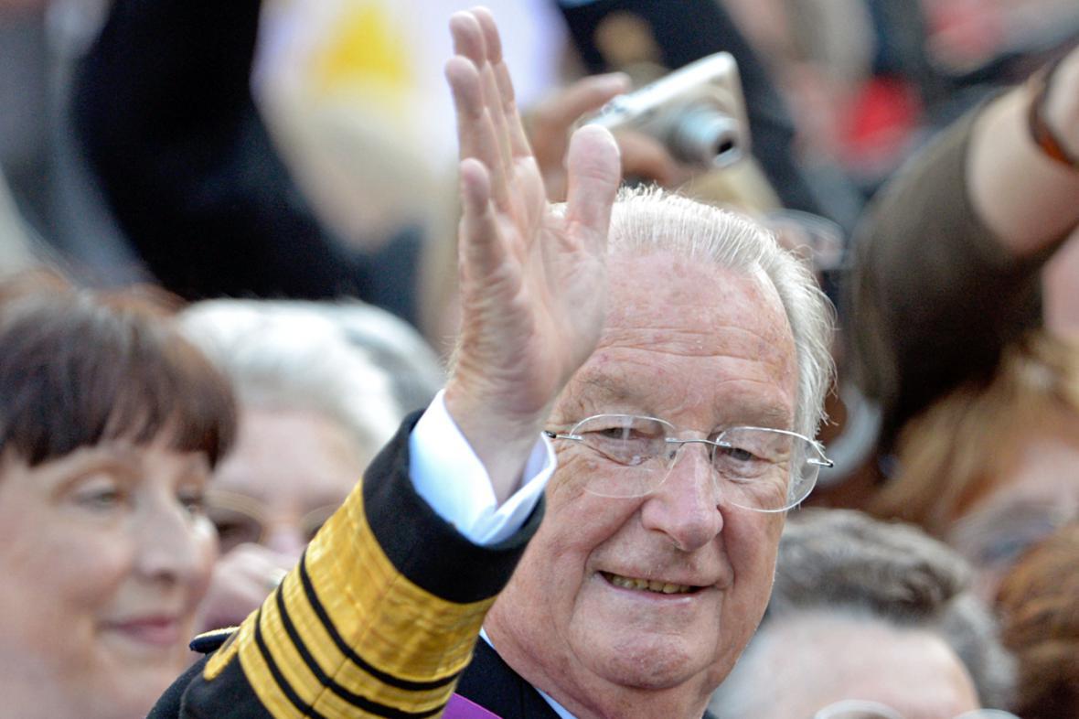 Bývalý belgický král Albert II.