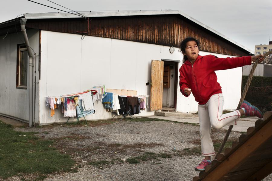 Vyloučená romská lokalita v Opavě