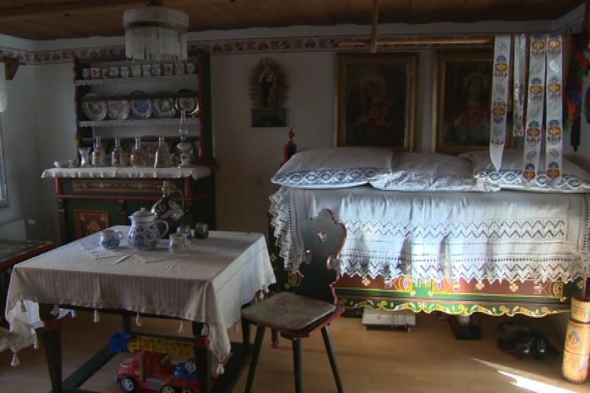 Světnice malérečky Marie Švirgové