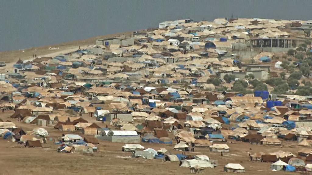 Uprchlický tábor pro syrské běžence