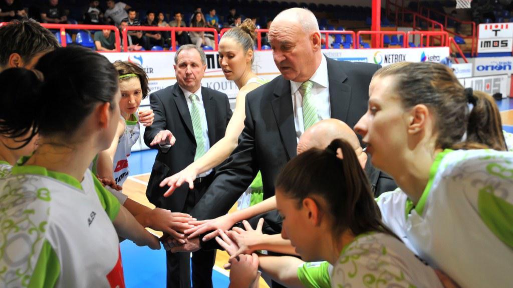 Brněnské basketbalistky