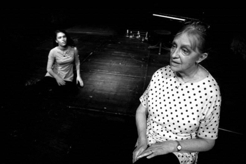 Ze hry Sudička Lachesis / Lucia Schubertová a Nina Divíšková