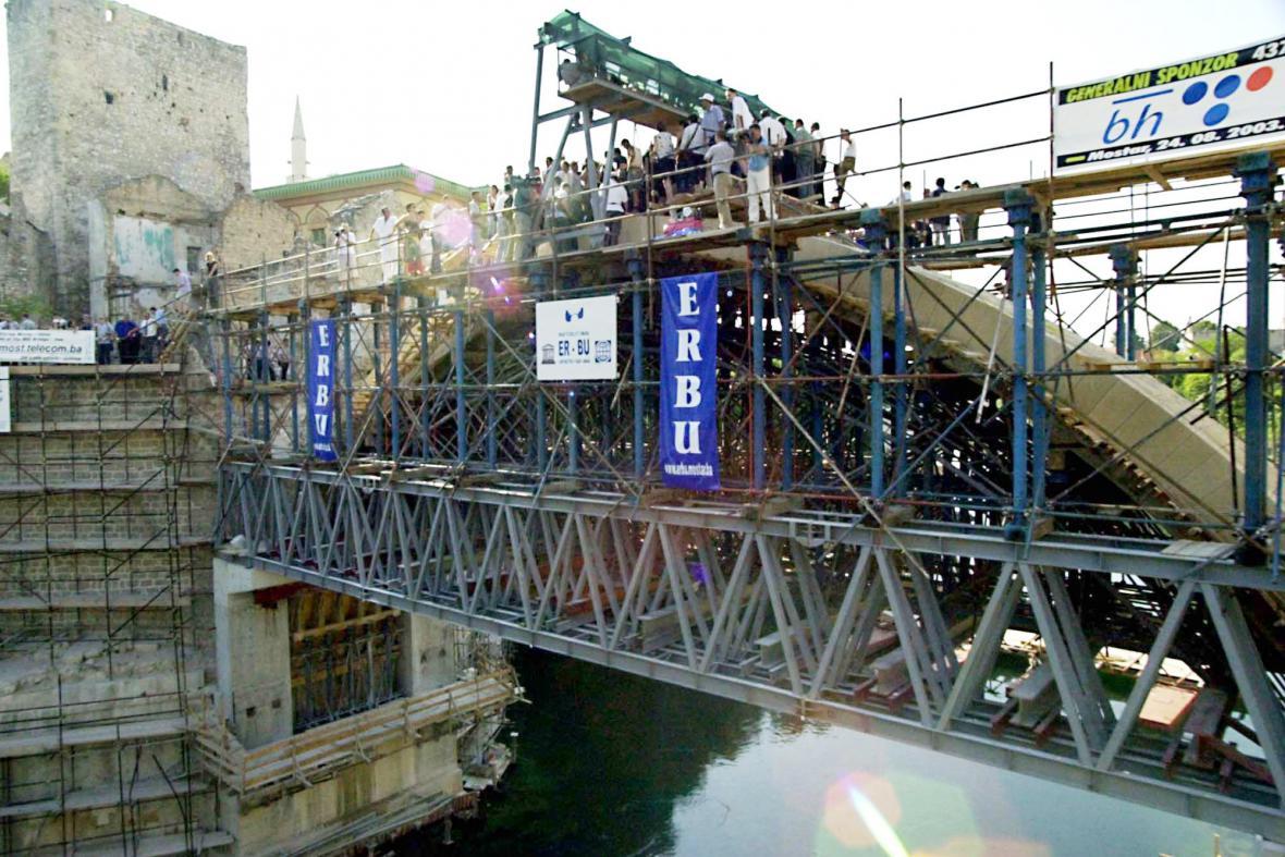 Obnova mostarského mostu