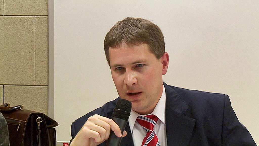 Předseda vědecké rady ÚSTR Adrian Portmann (von Arburg)
