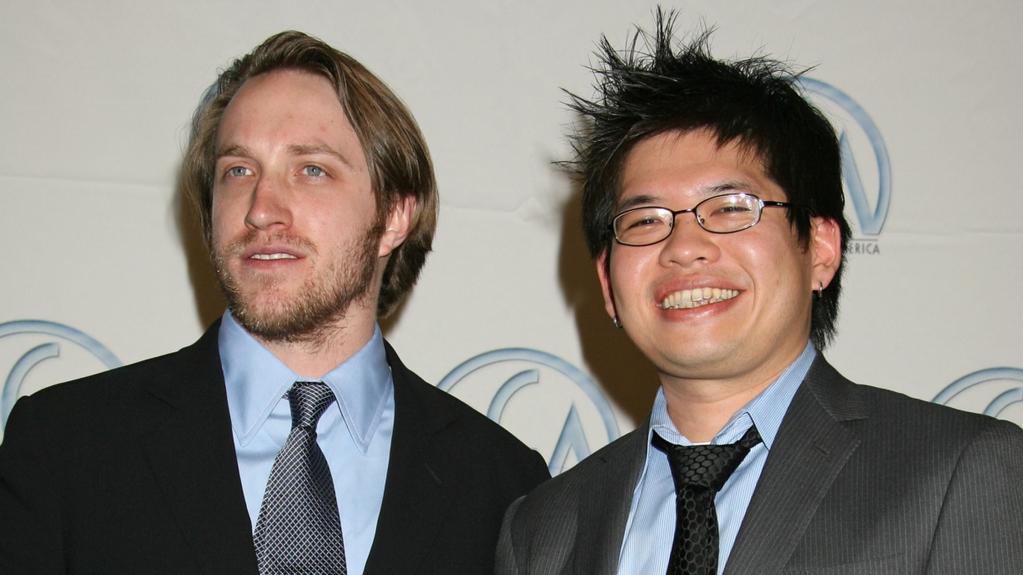 Zakladatelé YouTube Chad Hurley a Steve Chen