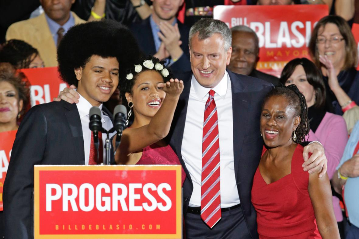 Nový starosta New Yorku Bill de Blasio