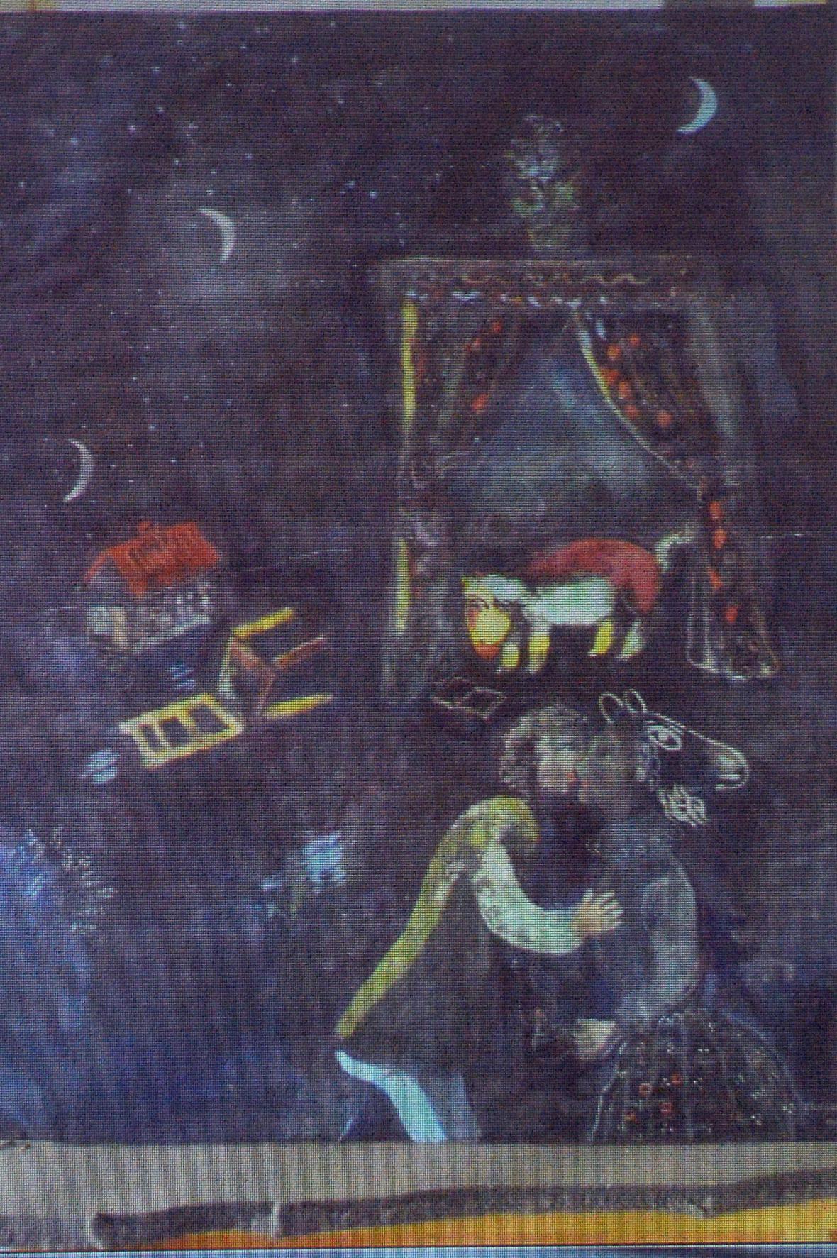 Nalezený obraz Marca Chagalla