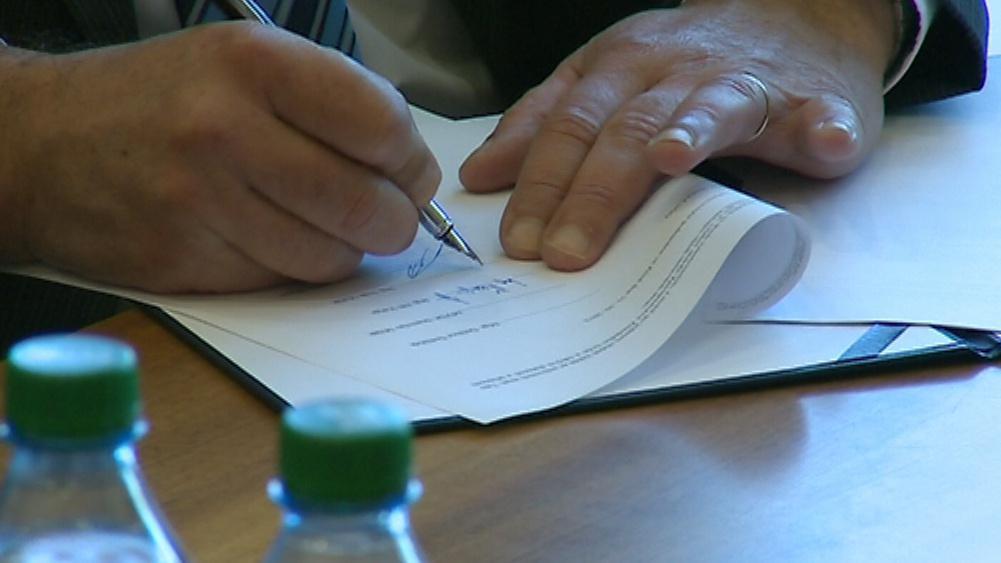 Podpis koaliční smlouvy ve Zlínském kraji